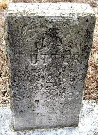 UTTER, JESSIE - McDonald County, Missouri | JESSIE UTTER - Missouri Gravestone Photos