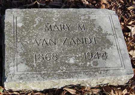 VAN ZANDT, MARY M - McDonald County, Missouri   MARY M VAN ZANDT - Missouri Gravestone Photos