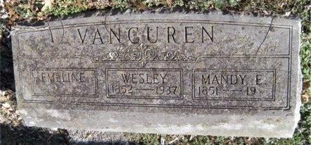 VANCUREN, WESLEY - McDonald County, Missouri | WESLEY VANCUREN - Missouri Gravestone Photos