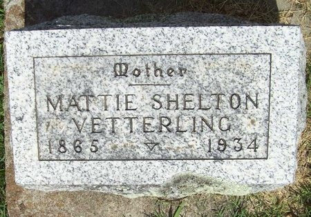 VETTERLING, MATTIE - McDonald County, Missouri | MATTIE VETTERLING - Missouri Gravestone Photos