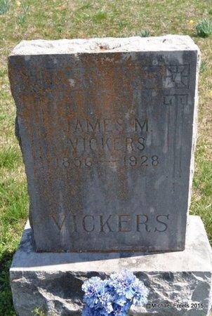 VICKERS, JAMES M. - McDonald County, Missouri | JAMES M. VICKERS - Missouri Gravestone Photos