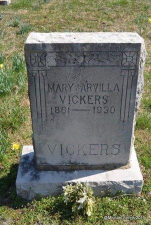 VICKERS, MARY ARVILLA - McDonald County, Missouri | MARY ARVILLA VICKERS - Missouri Gravestone Photos
