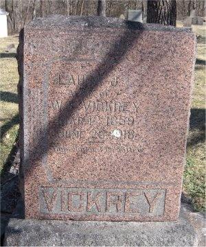 LANDERS VICKREY, LAURA JANE - McDonald County, Missouri | LAURA JANE LANDERS VICKREY - Missouri Gravestone Photos
