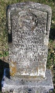 WARREN, JAMES W - McDonald County, Missouri | JAMES W WARREN - Missouri Gravestone Photos