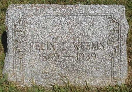 WEEMS, FELIX L. - McDonald County, Missouri   FELIX L. WEEMS - Missouri Gravestone Photos