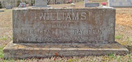 WILLIAMS, RAY DEAN - McDonald County, Missouri   RAY DEAN WILLIAMS - Missouri Gravestone Photos