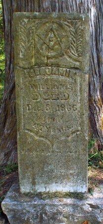 WILLIAMS, BENJAMIN JR - McDonald County, Missouri | BENJAMIN JR WILLIAMS - Missouri Gravestone Photos