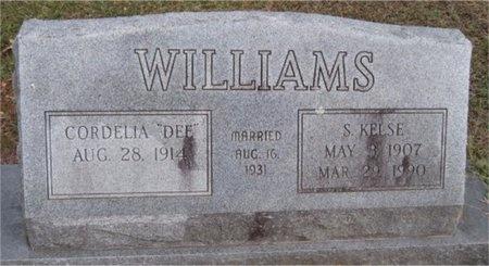WILLIAMS, CORDELIA VESTA - McDonald County, Missouri   CORDELIA VESTA WILLIAMS - Missouri Gravestone Photos