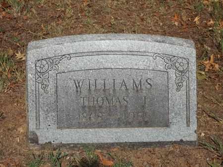 WILLIAMS, THOMAS J. - McDonald County, Missouri | THOMAS J. WILLIAMS - Missouri Gravestone Photos