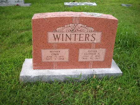WINTERS, OMA - McDonald County, Missouri | OMA WINTERS - Missouri Gravestone Photos