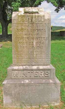 PENDERGRAFT WINTERS, RHODA LUCINDA - McDonald County, Missouri   RHODA LUCINDA PENDERGRAFT WINTERS - Missouri Gravestone Photos
