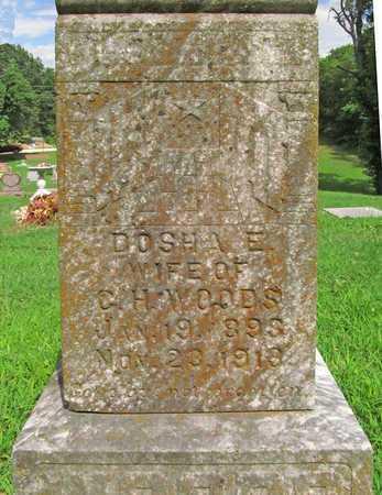 WOODS, DOSHA E - McDonald County, Missouri   DOSHA E WOODS - Missouri Gravestone Photos