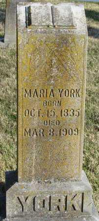 AMACK YORK, MARIA - McDonald County, Missouri | MARIA AMACK YORK - Missouri Gravestone Photos