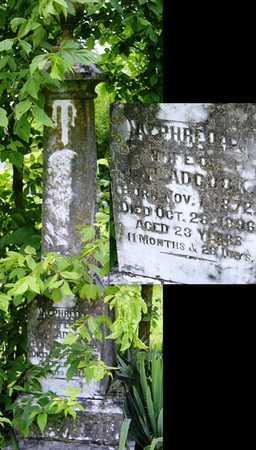 ADCOCK, ALPHREDA - Miller County, Missouri | ALPHREDA ADCOCK - Missouri Gravestone Photos