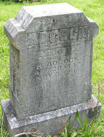 ADCOCK, AMANDA MINERVA - Miller County, Missouri | AMANDA MINERVA ADCOCK - Missouri Gravestone Photos