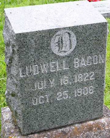 BACON, LUDWELL - Miller County, Missouri | LUDWELL BACON - Missouri Gravestone Photos