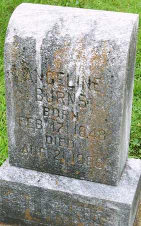 BURNS, ANGELINE - Miller County, Missouri   ANGELINE BURNS - Missouri Gravestone Photos