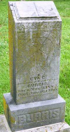 BURRIS, EVA CLEMENTINE - Miller County, Missouri | EVA CLEMENTINE BURRIS - Missouri Gravestone Photos