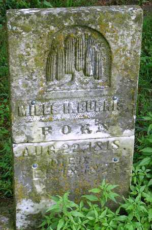 BURRIS, MILES HORNER SR - Miller County, Missouri | MILES HORNER SR BURRIS - Missouri Gravestone Photos