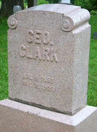 CLARK, GEORGE WILLIAM - Miller County, Missouri | GEORGE WILLIAM CLARK - Missouri Gravestone Photos