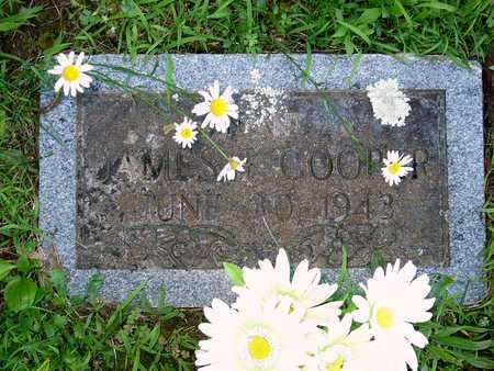 COOPER, JAMES T - Miller County, Missouri | JAMES T COOPER - Missouri Gravestone Photos