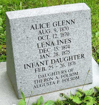 FOLSOM, ALICE GLENN - Miller County, Missouri | ALICE GLENN FOLSOM - Missouri Gravestone Photos
