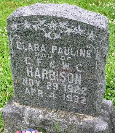 HARBISON, CLARA PAULINE - Miller County, Missouri | CLARA PAULINE HARBISON - Missouri Gravestone Photos