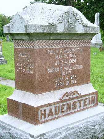 HAUENSTEIN, PHILLIP FERDINAND - Miller County, Missouri | PHILLIP FERDINAND HAUENSTEIN - Missouri Gravestone Photos