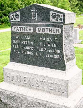 HAUENSTEIN, WILLIAM SR - Miller County, Missouri   WILLIAM SR HAUENSTEIN - Missouri Gravestone Photos