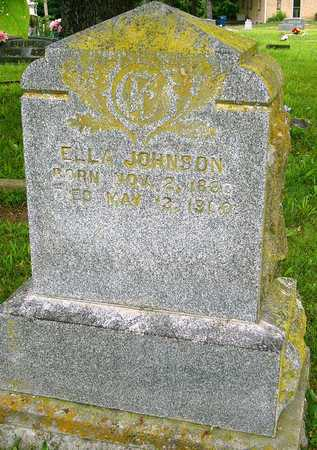 JOHNSON, ELLA - Miller County, Missouri | ELLA JOHNSON - Missouri Gravestone Photos