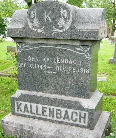KALLENBACH, JOHN - Miller County, Missouri   JOHN KALLENBACH - Missouri Gravestone Photos
