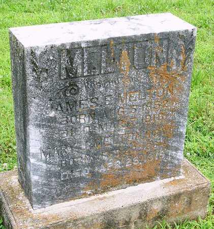 CRISP MELTON, MARY J. - Miller County, Missouri | MARY J. CRISP MELTON - Missouri Gravestone Photos