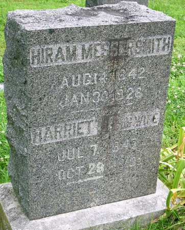 MESSERSMITH, HARRIET FRANCES - Miller County, Missouri | HARRIET FRANCES MESSERSMITH - Missouri Gravestone Photos