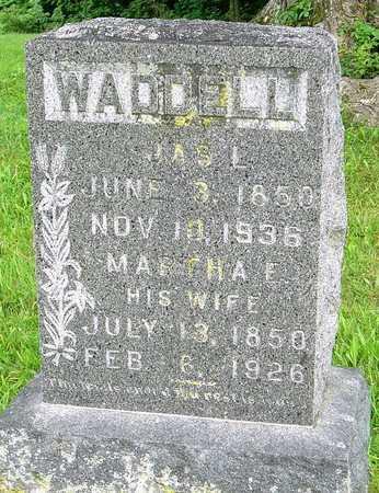 DEGREFFENREID WADDELL, MARTHA ELIZABETH - Miller County, Missouri | MARTHA ELIZABETH DEGREFFENREID WADDELL - Missouri Gravestone Photos