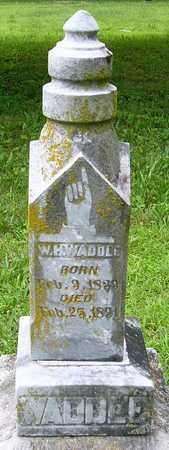 WADDELL, W H - Miller County, Missouri | W H WADDELL - Missouri Gravestone Photos