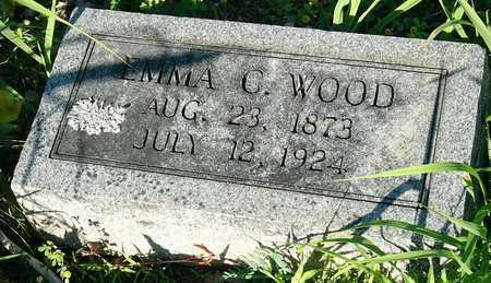 WOOD, EMMA CATHERINE - Miller County, Missouri   EMMA CATHERINE WOOD - Missouri Gravestone Photos