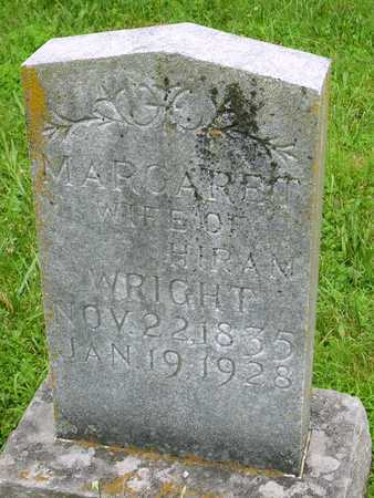 ROBERTS WRIGHT, MARGARET - Miller County, Missouri | MARGARET ROBERTS WRIGHT - Missouri Gravestone Photos
