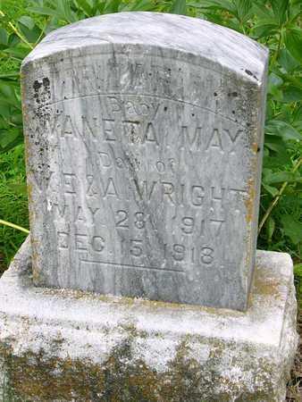 WRIGHT, WANETA MAY - Miller County, Missouri | WANETA MAY WRIGHT - Missouri Gravestone Photos