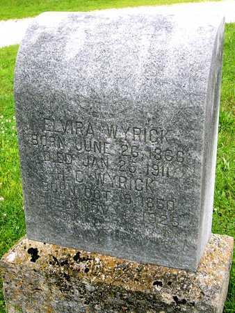 CRISP WYRICK, ELVIRA PHEBE - Miller County, Missouri | ELVIRA PHEBE CRISP WYRICK - Missouri Gravestone Photos