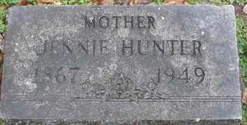 HUNTER, JENNIE - Morgan County, Missouri | JENNIE HUNTER - Missouri Gravestone Photos