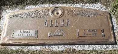 ALLEN, A MAXINE - Morgan County, Missouri | A MAXINE ALLEN - Missouri Gravestone Photos