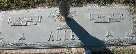 ALLEN, JOSEPH B - Morgan County, Missouri | JOSEPH B ALLEN - Missouri Gravestone Photos