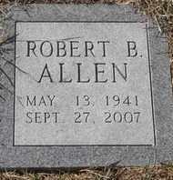 ALLEN, ROBERT B - Morgan County, Missouri   ROBERT B ALLEN - Missouri Gravestone Photos