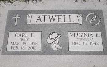 "ATWELL, CARL E ""RED"" - Morgan County, Missouri | CARL E ""RED"" ATWELL - Missouri Gravestone Photos"