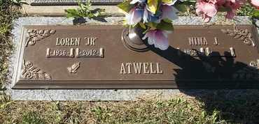 "ATWELL, LOREN ""JR"" - Morgan County, Missouri   LOREN ""JR"" ATWELL - Missouri Gravestone Photos"