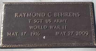 BEHRENS, RAYMOND C - MILITARY - Morgan County, Missouri | RAYMOND C - MILITARY BEHRENS - Missouri Gravestone Photos