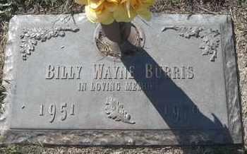 BURRIS, BILLY WAYNE - Morgan County, Missouri | BILLY WAYNE BURRIS - Missouri Gravestone Photos