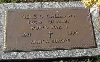 CALLISON, GENE D - MILITARY - Morgan County, Missouri | GENE D - MILITARY CALLISON - Missouri Gravestone Photos