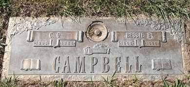CAMPBELL, BESSIE B - Morgan County, Missouri | BESSIE B CAMPBELL - Missouri Gravestone Photos