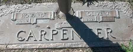 CARPENTER, OLIVE V - Morgan County, Missouri | OLIVE V CARPENTER - Missouri Gravestone Photos